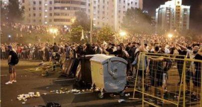 تجدد الاشتباكات في روسيا البيضاء مع فرار زعيمة المعارضة للخارج image