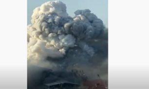 الفيديو الكامل لتطور الحريق في مرفأ بيروت... حذرته زوجته فوقع الانفجار image