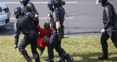 شرطة بيلاروس أعلنت إطلاق الرصاص من أسلحة نارية على المحتجين image