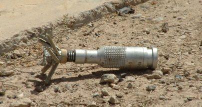 انفجار قنبلة عنقودية من مخلفات الحرب في الخيام image