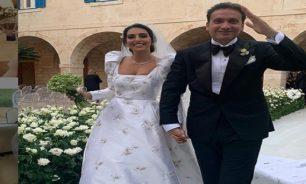 بالفيديو فاليري أبو شقرا تدخل القفص الذهبي... وقوى الامن توقف حفل الزفاف image