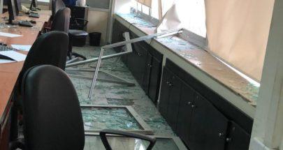 جريحان في وزارة الإعلام وأضرار جسيمة image