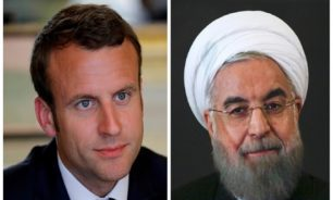روحاني وماكرون يبحثان الوضع في لبنان بعد انفجار مرفأ بيروت image