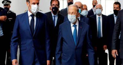 برقية تعزية من الرئيس عون الى ماكرون: نقف الى جانب فرنسا image