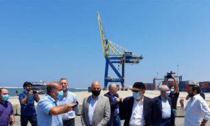 الشريف: العمل في مرفأ طرابلس لأيام قارب العمل في أشهر image