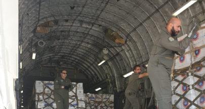 وصول طائرة مساعدات طبية كويتية image