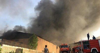 حريق في منطقة صناعية في إيران ولا خسائر بشرية image