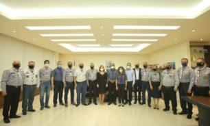 الوزيرة فارتينيه أوهانيان استقبلت ممثل المنظمة الكشفية العالمية image
