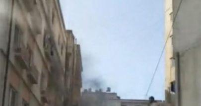 اخماد حريق داخل مستشفى في طرابلس image