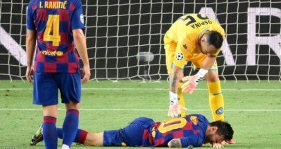 """برشلونة عن إصابة ميسي: """"لا مشكلة"""" image"""