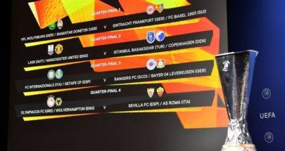 قائمة الأندية المتأهلة لربع نهائي الدوري الأوروبي ومواعيد المباريات image