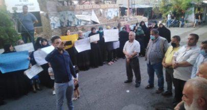 اعتصام في عين الحلوة للمطالبة بالافراج عن السجناء الفلسطينيين image