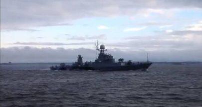 حادث بين سفينتين روسييتين! إليكم التفاصيل image