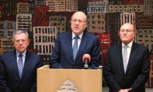 رؤساء الحكومات السابقين: مبادرة الحريري شخصية image