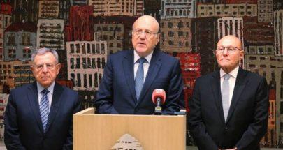 رؤساء الحكومات السابقون: مبادرة الحريري شخصية image