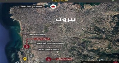 بالصور الجيش الاسرائيلي يكشف مواقع سرية لأسلحة حزب الله في الشويفات والليلكي image