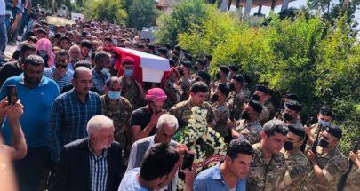 قيادة الجيش وبلدة قشلق شيعتا العريف المجند الشهيد أحمد خالد صقر image