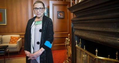 """وفاة قاضية المحكمة العليا الأمريكية """"روث بادر جينسبيرج"""" عن عمر يناهز 87 عاما image"""