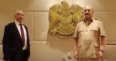 حفتر وصالح يصلان القاهرة بزيارة مفاجئة لمناقشة المبادرات السياسية image