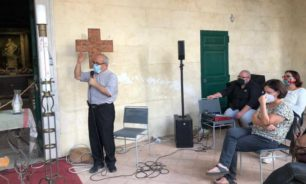 وقفة تضامنية مع لبنان في روما image