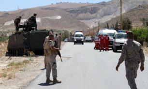 الجيش اللبناني: تمارين تدريبية وتفجير ذخائر image