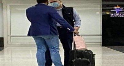 """بالصورة مصطفى أديب يغادر لبنان... وجميل السيّد: """"روح"""" image"""