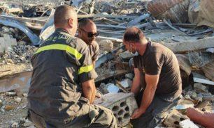 الدفاع المدني يواصل تنفيذ المهام في مرفأ بيروت image
