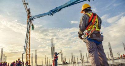مساحات البناء المرخّصة تتراجع 44 بالمئة سنوياً image