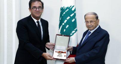الرئيس عون: متمسك بالمبادرة الفرنسية image