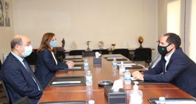 الجميّل يلتقي السفير التركي والسفيرة الاسترالية image