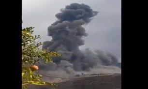 """إنفجار مستودع أسلحة تابع لـ""""حزب الله"""" في عين قانا... إليكم التفاصيل image"""