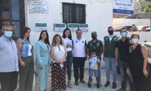 مساعدات غذائية سعودية لجمعية مار أنطونيوس الخيرية في الرميلة image