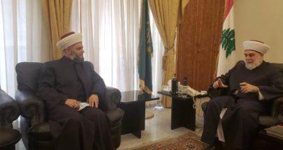 إمام مسجد الحازمية الضنية: أكدت لمفتي طرابلس أن ما حصل كان نتيجة انفعال غير مقصود image