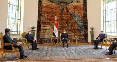 الكشف عن تفاصيل لقاء السيسي مع حفتر وعقيلة صالح image