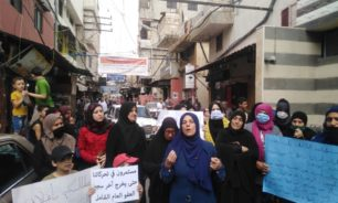 اعتصام في عين الحلوة ومطالبة باطلاق السجناء الفلسطينيين image