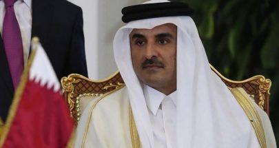 أمير قطر يشن هجوما على اسرائيل image