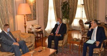مصر تدعو لبنان إلى الإسراع في تشكيل حكومة على الأسس الدستورية image