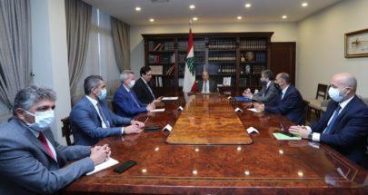الرئيس عون يترأس اجتماعا ماليا للبحث في احتياطي مصرف لبنان image