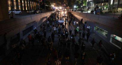 استئناف الاحتجاجات المناهضة للعنصرية في لويفيل الأميركية image
