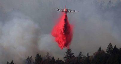 حريق غابات يُخلي مستشفى ومئات المنازل شمال ولاية كاليفورنيا الأميركية image
