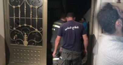 الدفاع المدني: اخماد حريق لوحة فواصم في مجدل عنجر image