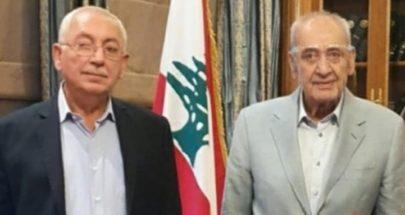 بري التقى بهية الحريري وقنصل السيراليون في لبنان image