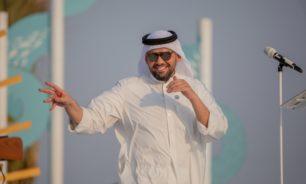 حسين الجسمي يحتفل باليوم الوطني السعودي الـ90 على شاطىء الرأس الأبيض image