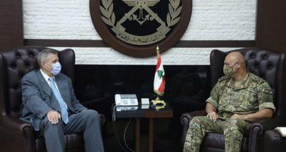 قائد الجيش عرض الاوضاع مع كوبيتش image