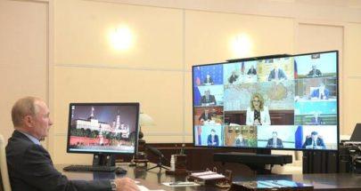 بوتين: فيروس كورونا عدو صامت بالغ الخطورة وجميع السيناريوهات ممكنة image
