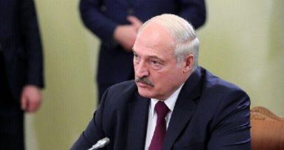 لوكاشينكو: قد نفرض الحجر الصحي للقادمين من الدول الغربية image