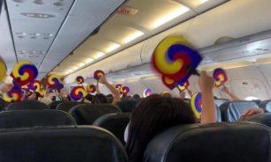 """بالصور: طائرة """"اللا-مكان"""" أقلعت وعادت بعد ألفي كيلومتر image"""