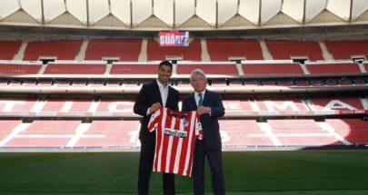 لويس سواريز ينضمّ إلى صفوف أتلتيكو مدريد قادمًا من برشلونة image