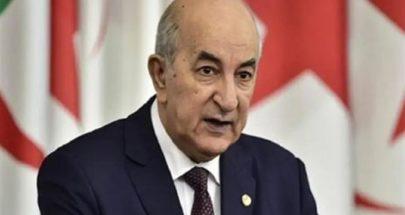 الجزائر تعلن إجراء انتخابات تشريعية مبكرة image