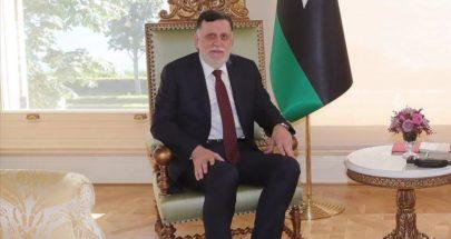 السراج يعلن العدول عن استقالته التي حددها بنهاية تشرين الأول image